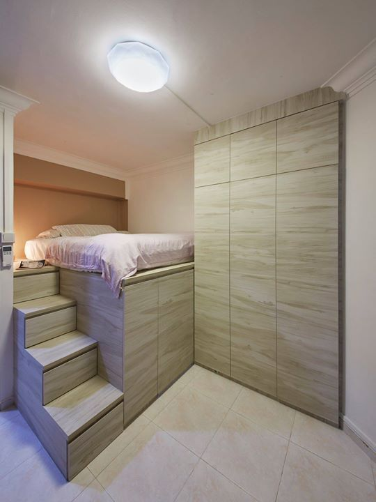 Storage Ideas For Hdb Resale Bedrooms Design Interior 2018