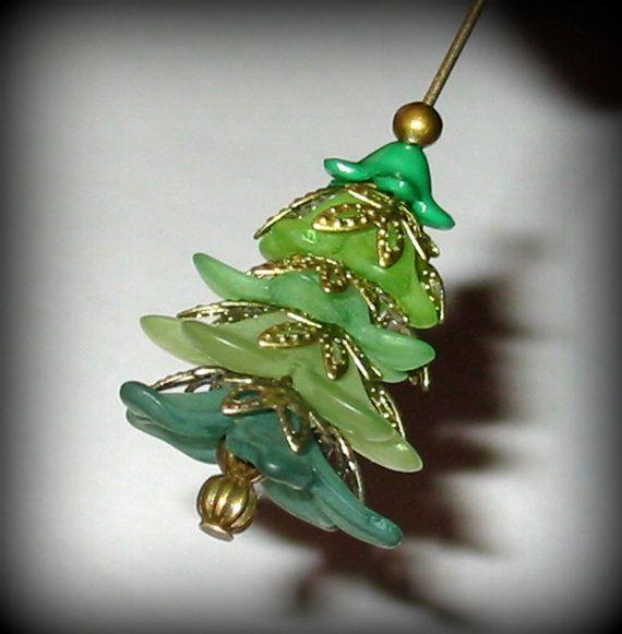 Wonderful Diy Ribbon Beads Christmas Tree: Best 20+ Christmas Jewelry Ideas On Pinterest