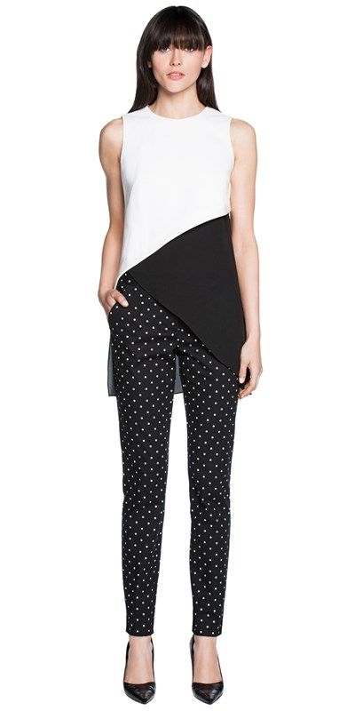 CUE - Spot Cotton Pants