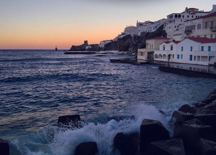 island of Andros (Άνδρος) Wild beauty of nature at sunset time ❤