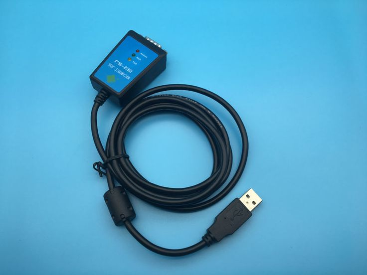 USB to Serial Cable  DB9 Pin COM Port FTDI Chipset USB 2.0 to RS232 RS-232 Adapter Converter 1.8m Length