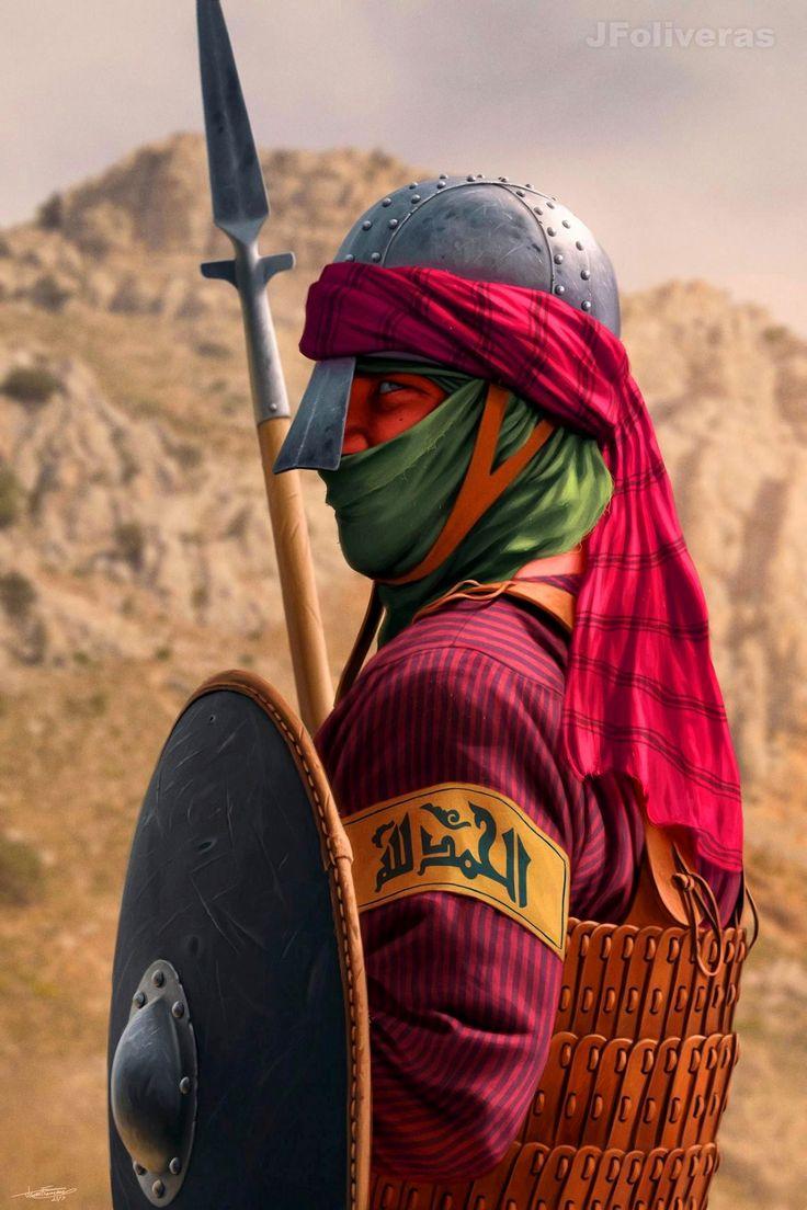 Картинка мусульманин воин