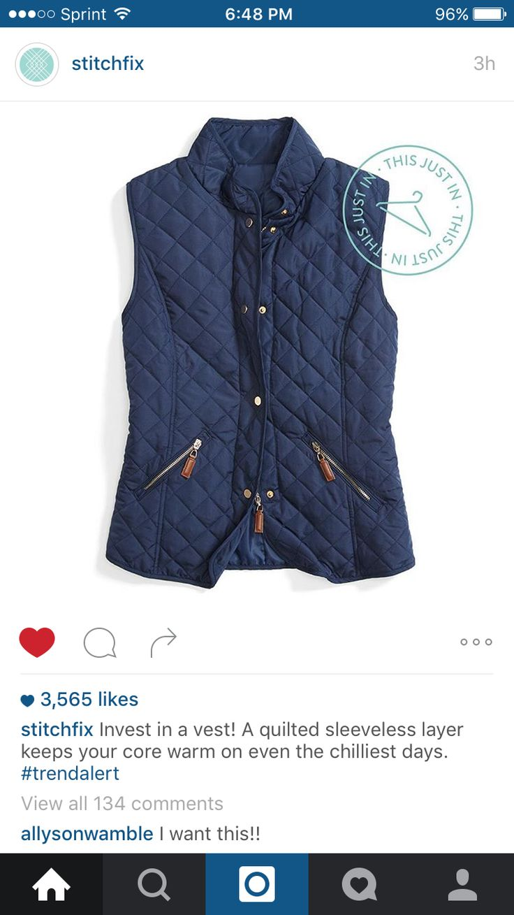 Ohhhhhh I LOVE this vest!!!! Pretty please!!