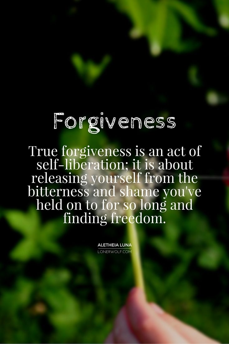 Forgiveness is LESS about the other person and MORE to do with you!  #forgive                                                                                                                                                                                 More