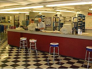 parts counter showroom layout - Google Search