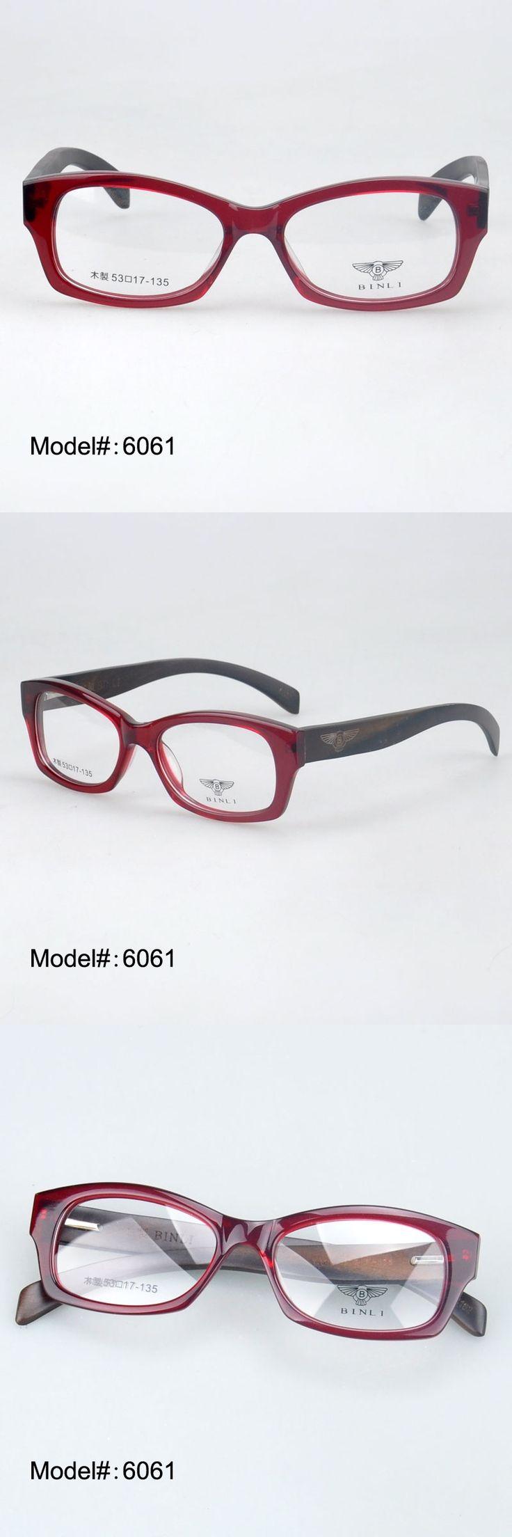 MY DOLI 6061 spring hinge full rim fashionable acetate frame wooden temple optical frames eyewear glasses myopia spectacles