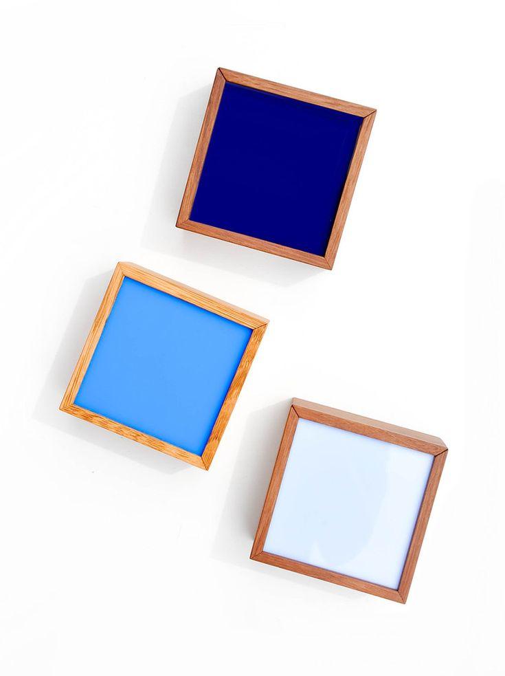 Square Color Chip Box closed