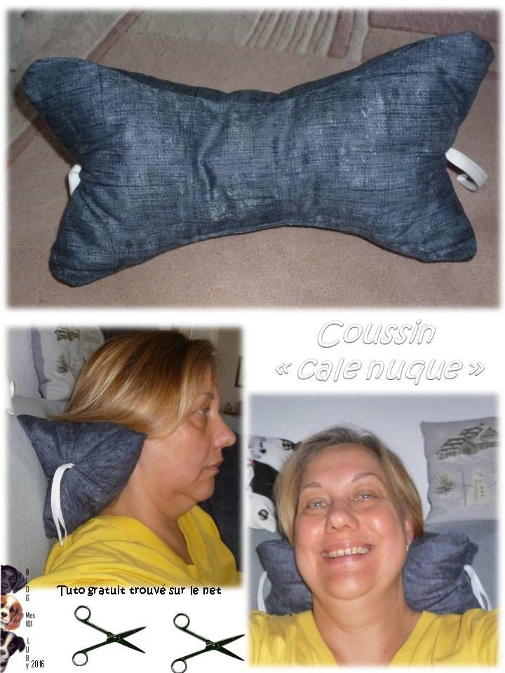 """Coussin """"cale nuque"""" - Mes 101 Luby"""