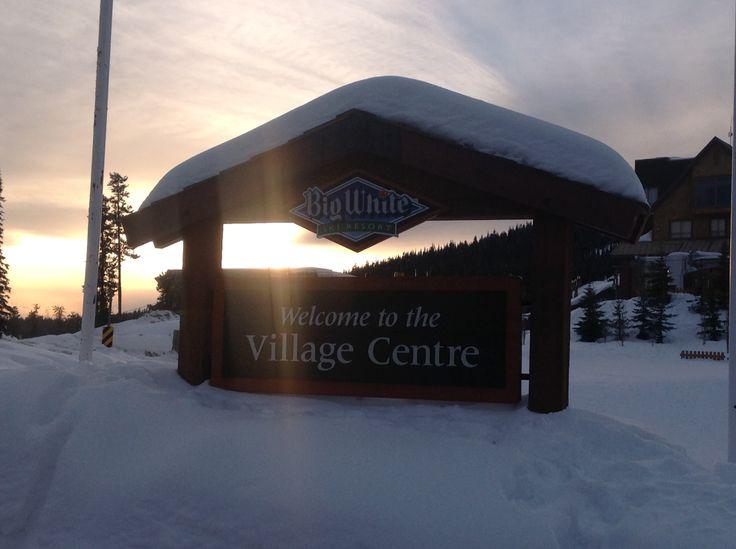 Big White Ski Resort, BC