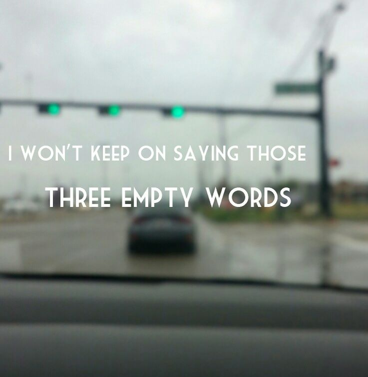 Shawn Mendes - Three empty words- Lyrics - Stop light