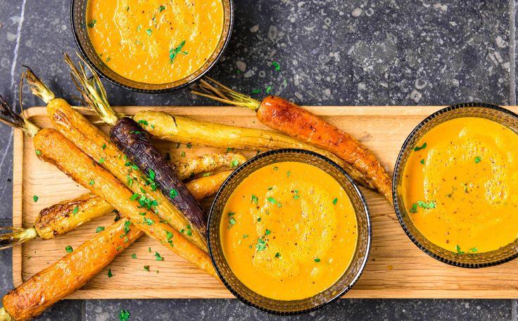 Deze soep krijgt super veel smaak door een snufje bakingsoda en het koken in een snelkookpan. Dit geef de Maillardreactie een boost!