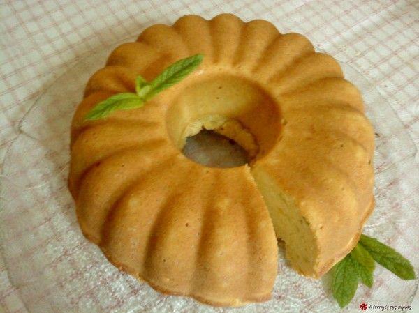 Αλμυρό κέικ με φέτα και φρέσκο δυόσμο #sintagespareas