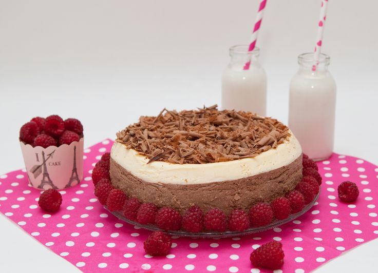 Dvojvrstvová tvarohová torta | Angie