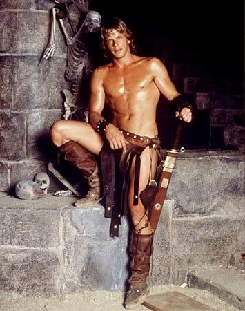 Marc Singer in 'The Beastmaster'