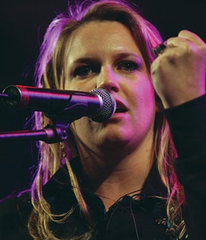 Karen Zoid - South African Singer - my favourite SA artist. She makes us laugh by being just who she is :) and her music and her passion move me in a way I just can't explain. Her spirit shines so brightly. Her love for our country and our heritage makes me feel proud to be South African.