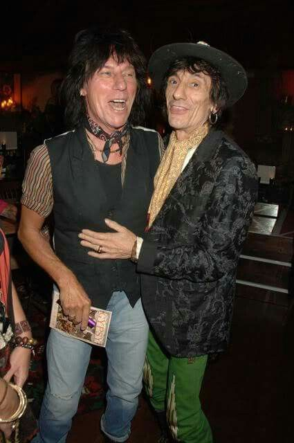 Jeff Beck and Ron Woods