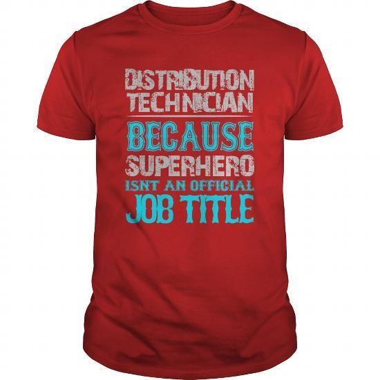 Distribution Technician Shirt - #country shirt #tee tree. GUARANTEE => https://www.sunfrog.com/Jobs/Distribution-Technician-Shirt-Red-Guys.html?68278