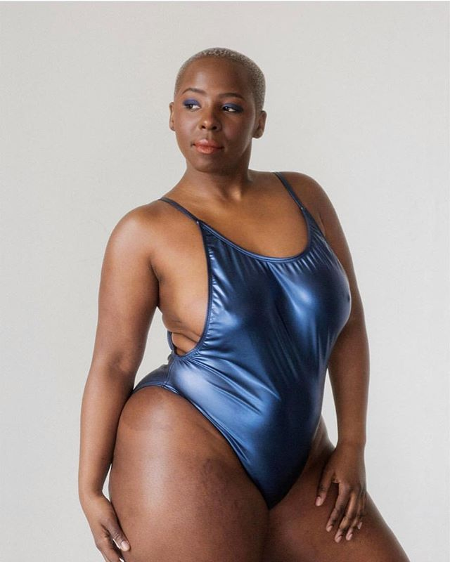 Ebony shaved Category:Nude standing