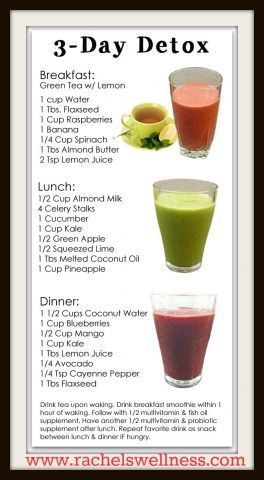 Simple 3 day #juice #detox.