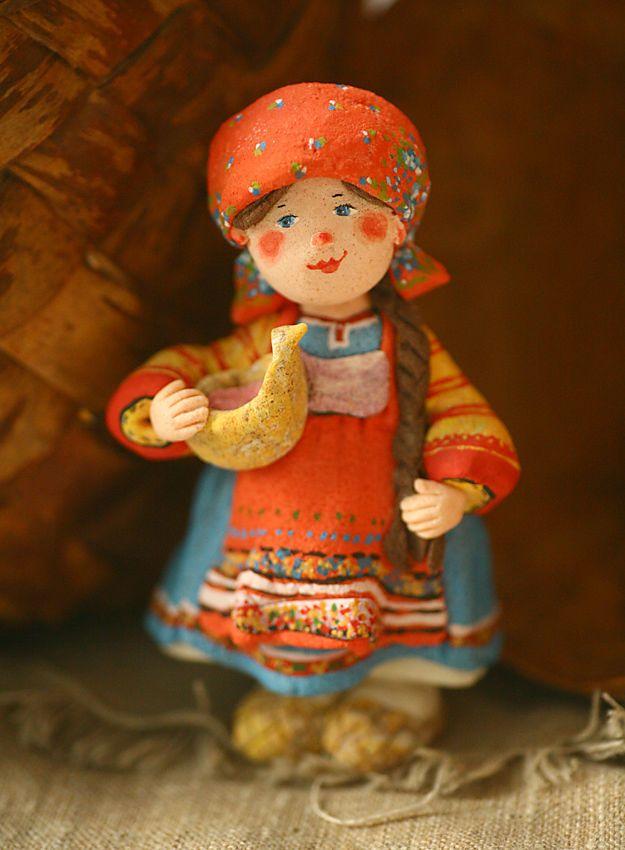 Одухотворённый народец Валентины Петруниной - Ярмарка Мастеров - ручная работа, handmade