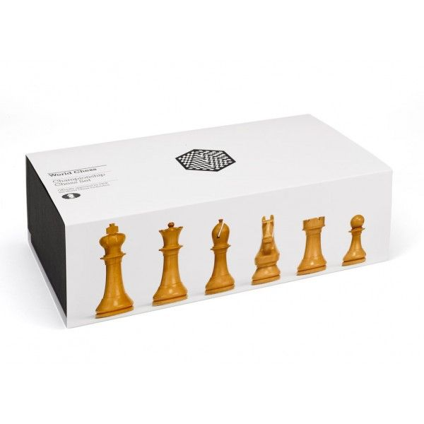 World Chess Championship Official Set - design by Daniel Weil.
