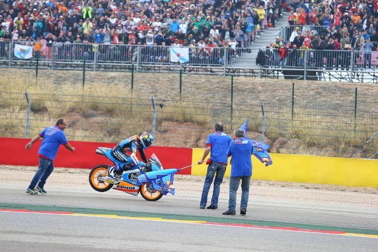 Alex Marquez, Aragon Moto3 race 2014