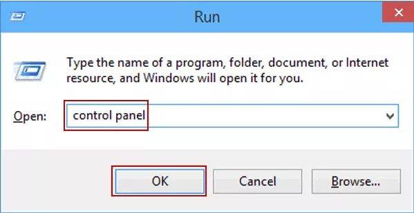cara masuk ke kontol panel windows 10