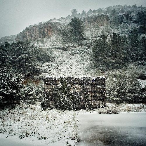 Barcelona, Spain  Landscape restoration of the Vall d'en Joan landfill site Garraf  Batlle i Roig Arquitectes