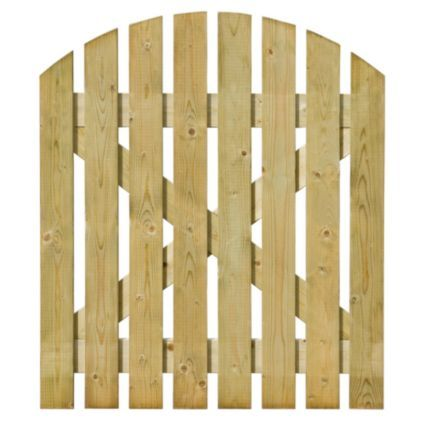 Grange Timber Domed Gate (H)1.05m (W)900mm: Image 1