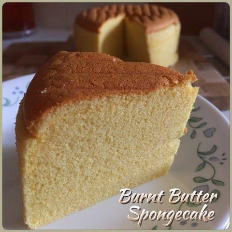 Sponge butter cake recipe