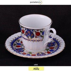 Afife Çay Fincan Takımı ( 6 Kişilik )