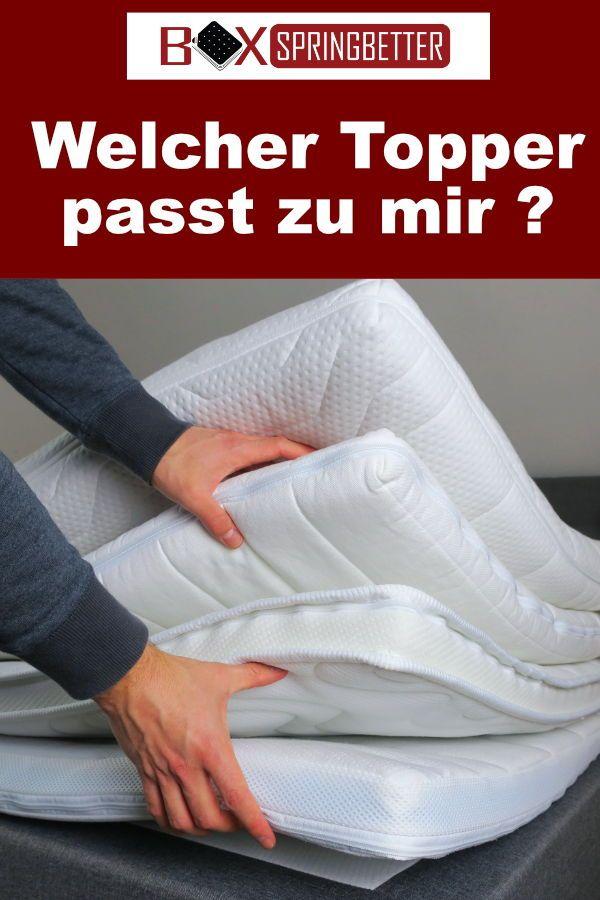 Pin Von Jacqueline Volker Auf Gesundheit Matratzen Topper