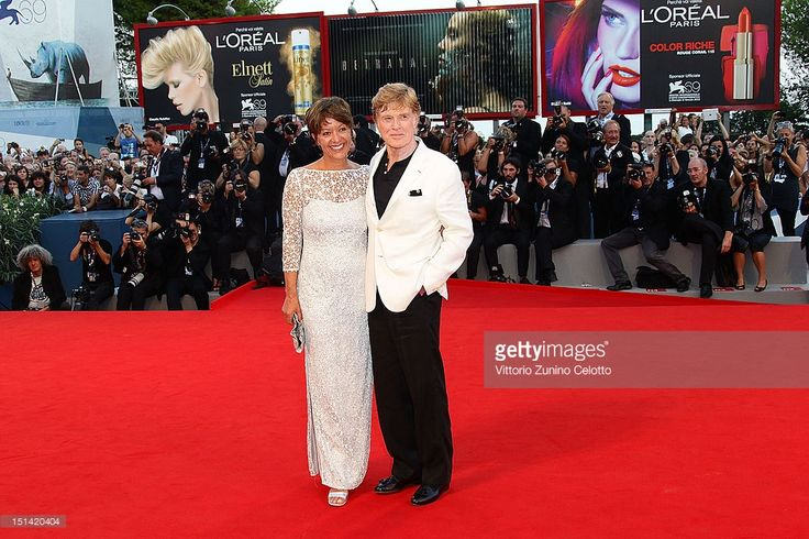 Actor/director Robert Redford and his wife Sibylle Szaggars attend...