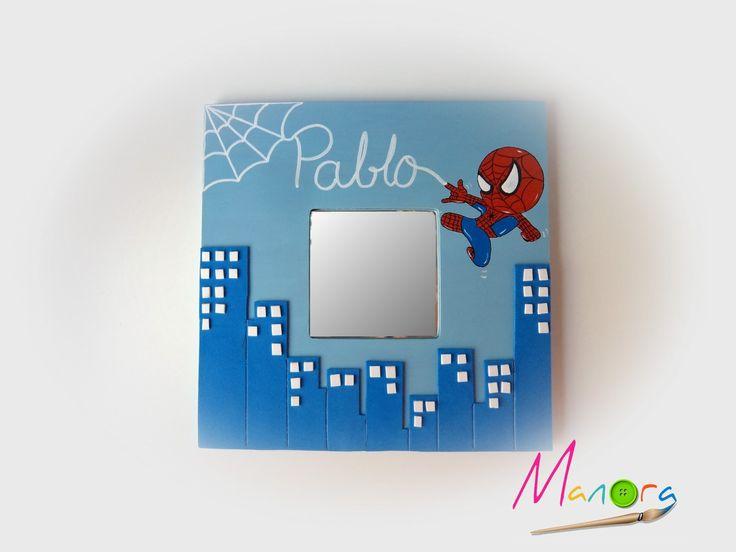 El rincón de Manora: Malma Spiderman chibi