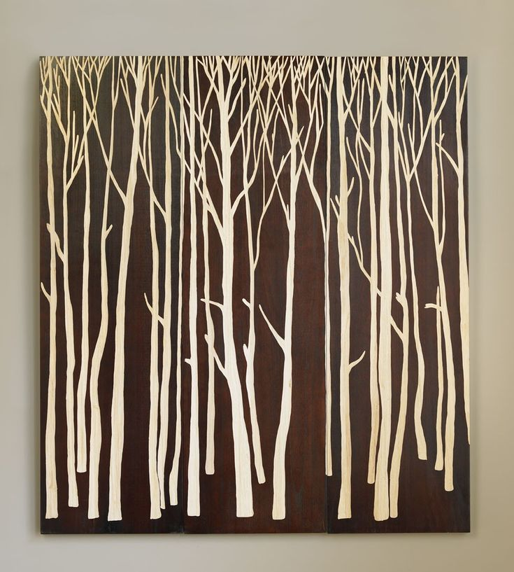 Vivaterra hand carved birch forest panels vivaterra cant get enough birch art of any kind this is carving