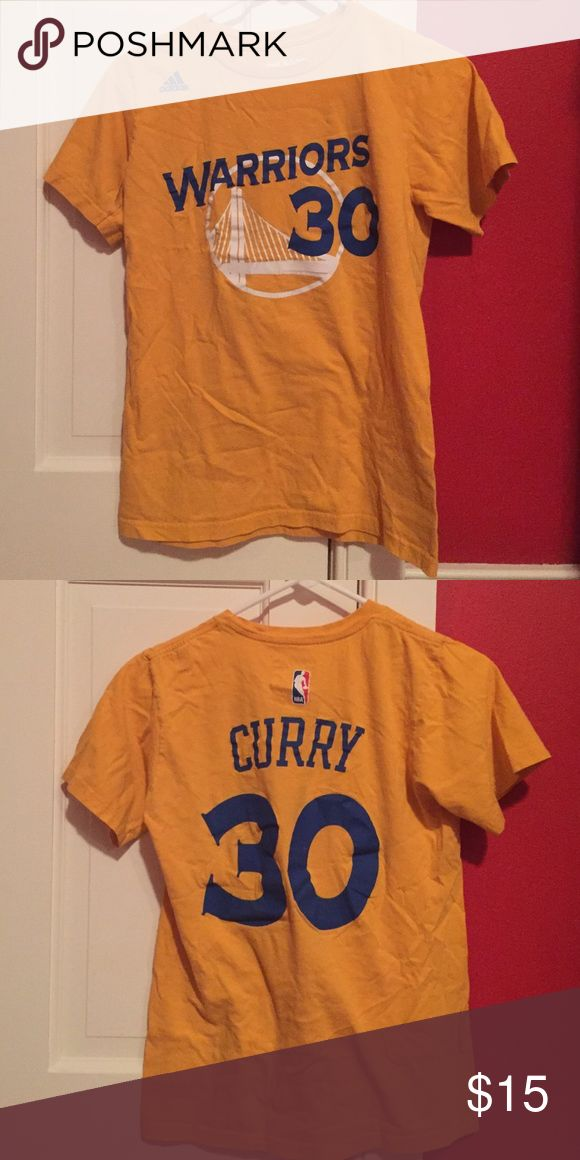 Stephen Curry Golden State Warriors T-Shirt Great condition worn twice. Adidas Shirts & Tops Tees - Short Sleeve