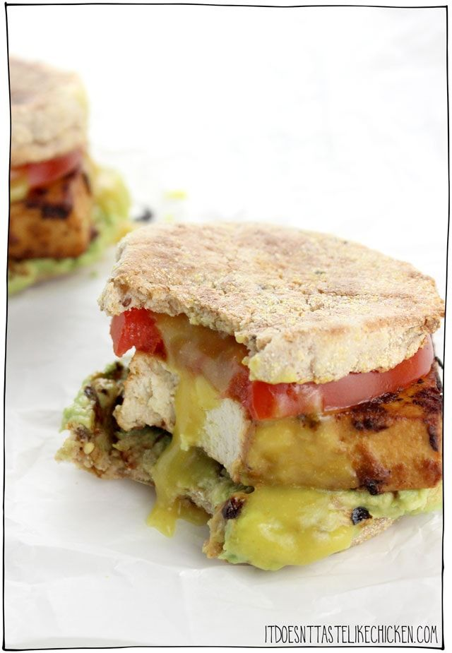 The Ultimate Vegan Breakfast Sandwich Recipe Vegan Breakfast Recipes Healthy Breakfast Recipes Easy Breakfast Recipes