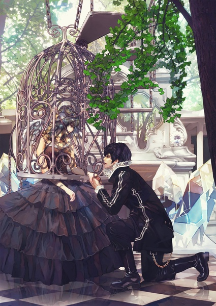 princess in a bird cage | Anime Overload! | Pinterest ...