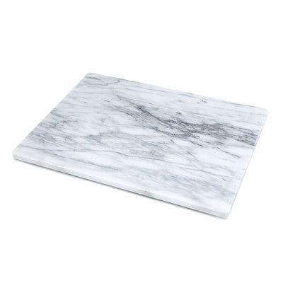 "Fox Run Craftsmen 16"" Marble Pastry Board & Reviews 