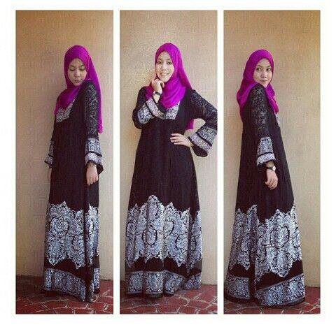 Photo credit to Shahilaamzah Own IG. Beautiful muslim...muslimah in hijab/hijabiers women fashion styles. Love.