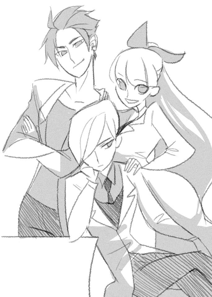 Butch, Blossom, & Bash