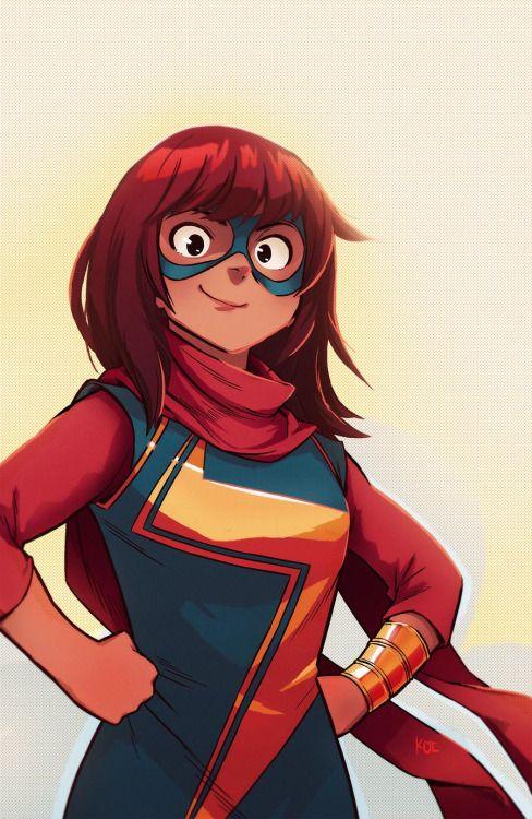 Ms. Marvel - Koi Carreon