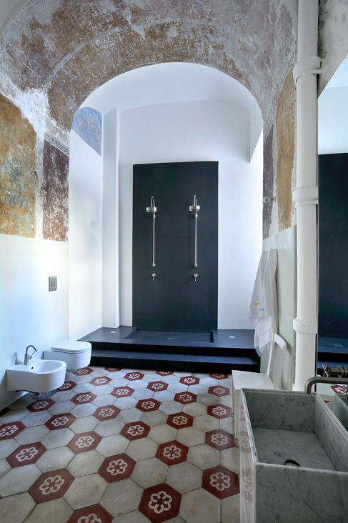 Bathroom Capri Suite Handmade Tiles Can Be Colour Coordinated And