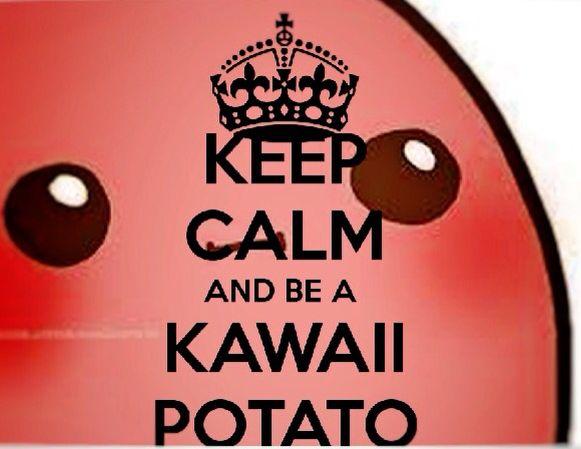 KAWAII! Potato muokkaus: fotor