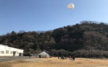 RT LTA has presented a live demonstration of the SkyStar 110 micro-tactical aerostat system for the first time in Japan