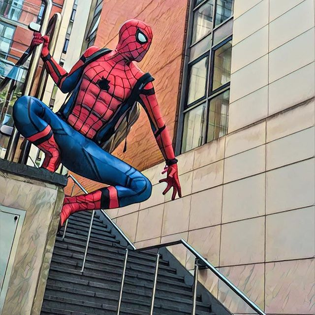 Late for school #SpiderManCosplay⠀ 📷 @the_spiderman_of_farnborough⠀ …⠀ …⠀ Tag @GoGoCosplayCom or #gogocosplay to be featured!⠀ …⠀ …⠀ Visit gogocosplay.com for cosplay photo contests and more.⠀ …⠀ …⠀ #spidey⠀ #spiderman⠀ #peterparker⠀ #marvelcosplay