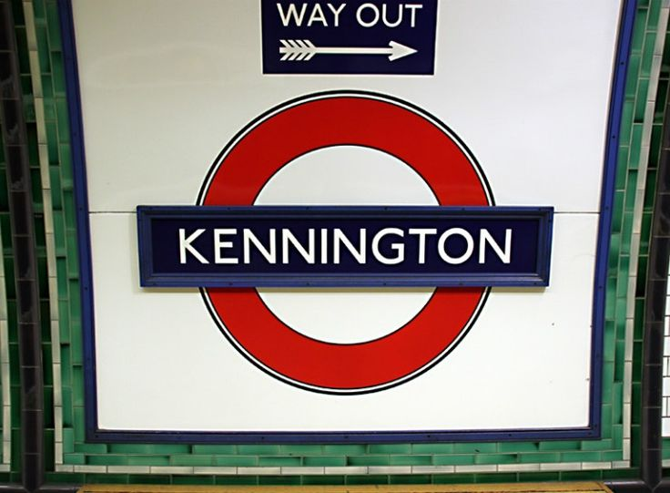 Kennington London Underground Station in London, Greater London