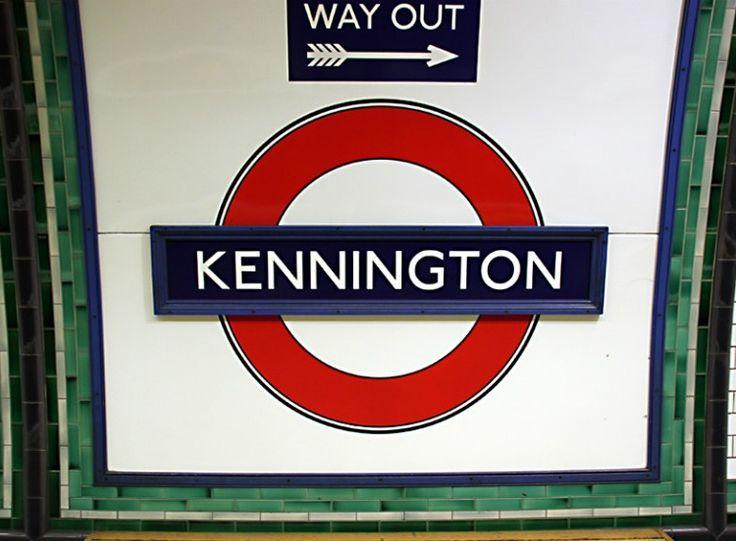 Kennington London Underground Station in London, Greater London