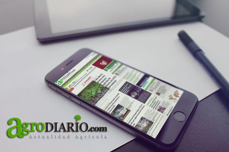 www.agrodiario.com  actualidad y noticias agrarias e industrias afines de cada día, desde tu smartphone, tablet o pc Suscríbete ya y mantente informado este 2016