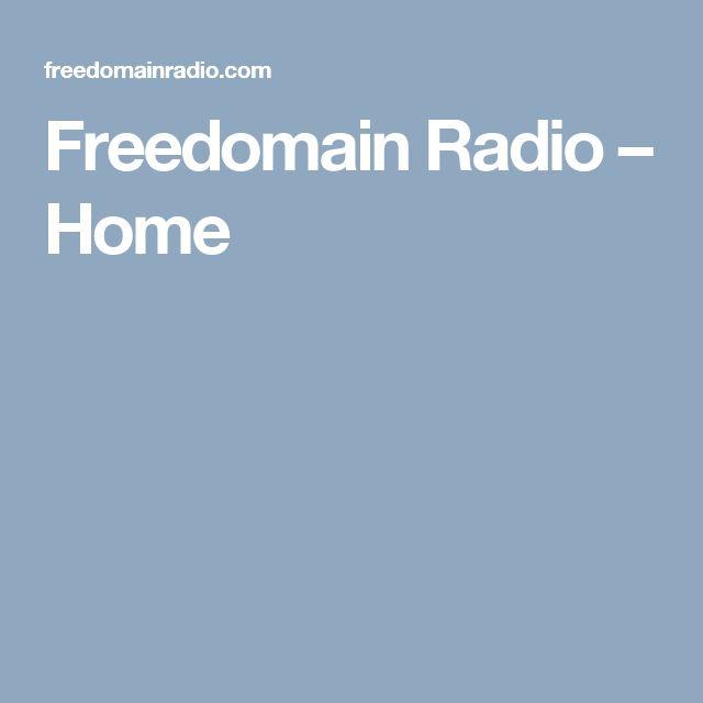 Freedomain Radio – Home